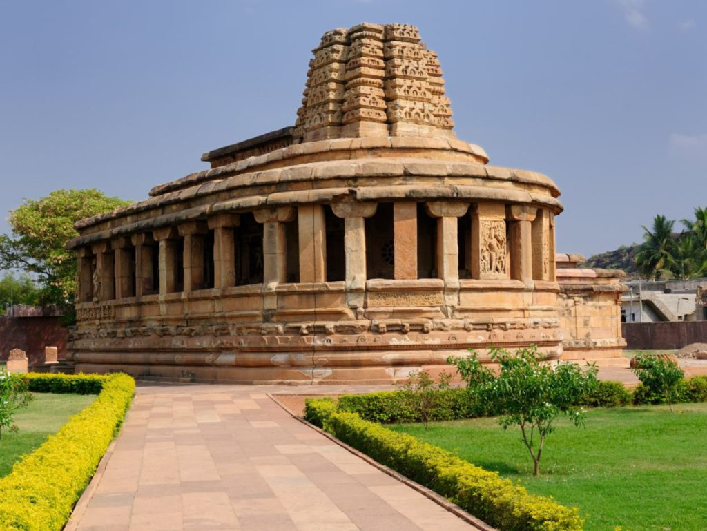 Ancient temples at Aihole