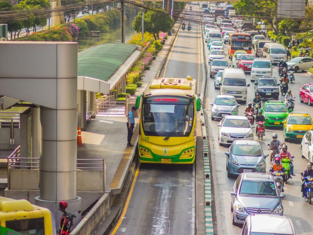 BRT Line, Bangkok, how to travel inside Bangkok