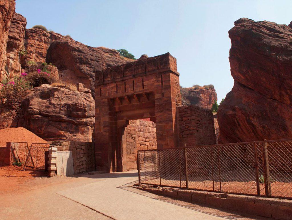 Badami Fort Entrance