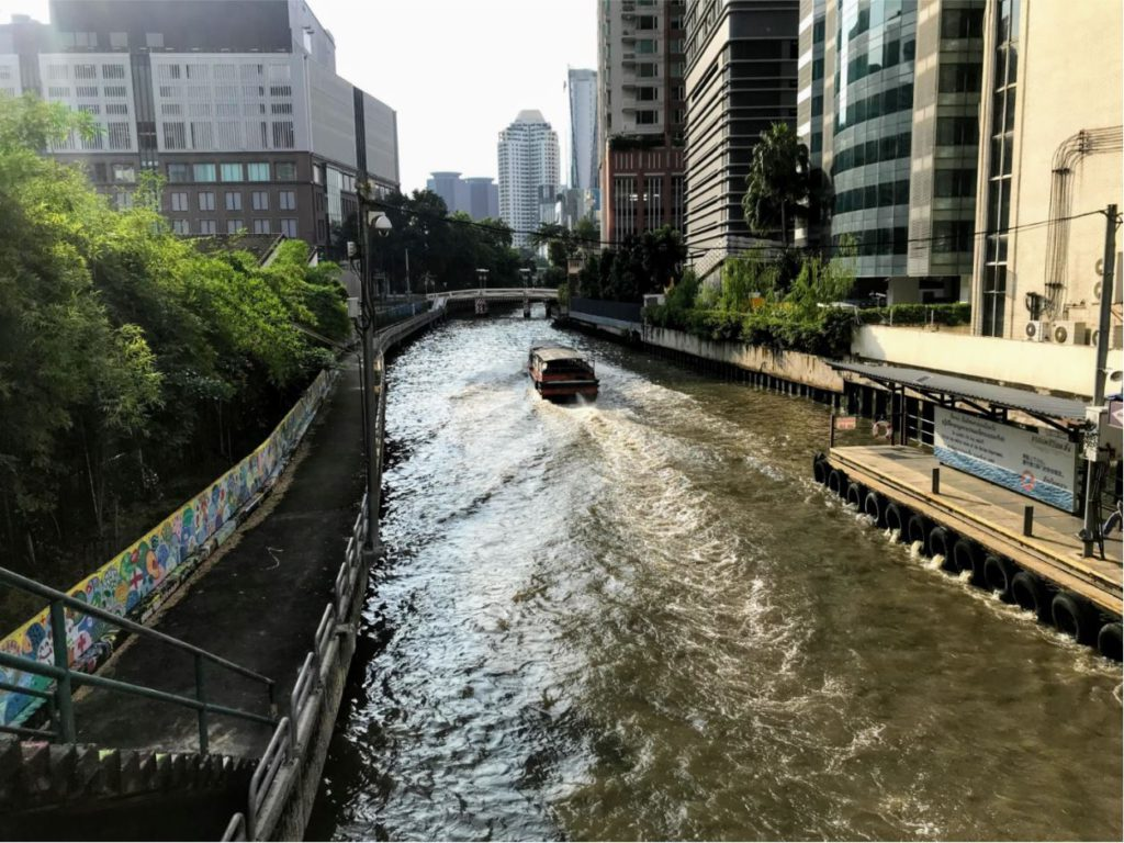 Boat canal routes in Bangkok, how to travel inside Bangkok