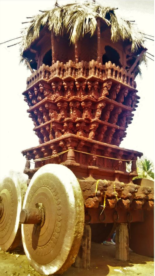 Chariot used during the rath yatra