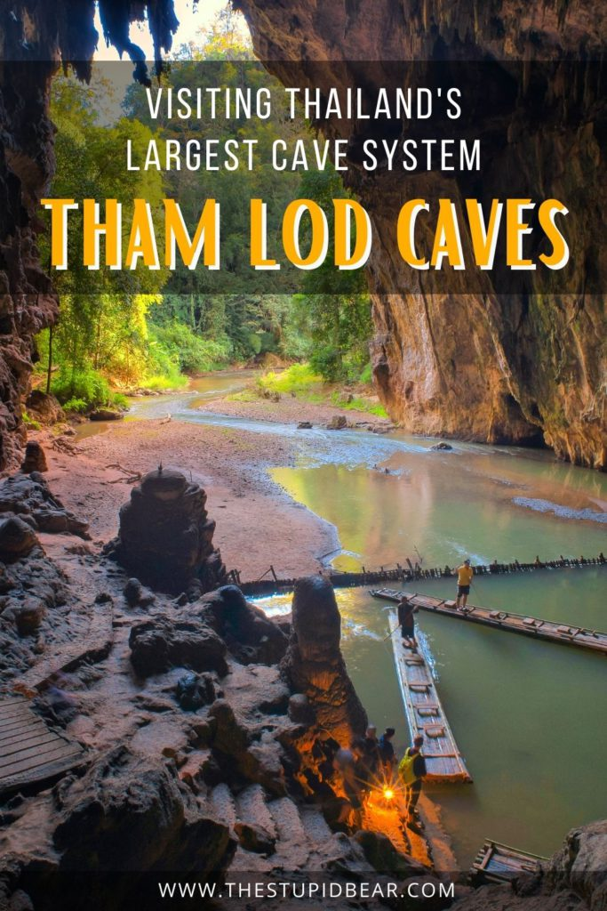 A complete travel guide to Tham Lod caves, the largest limestone caves in Thailand
