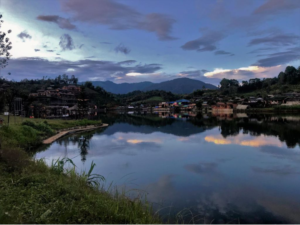 Ban Rak Thai village view