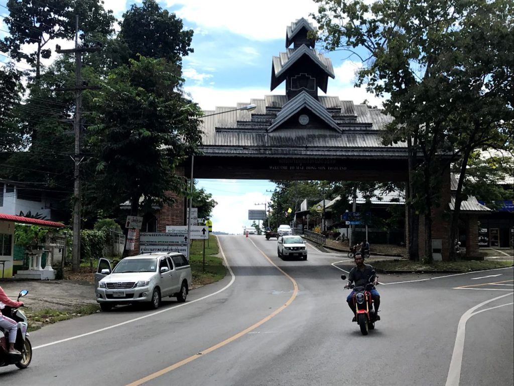 Gateway to the town of Mae Hong Son