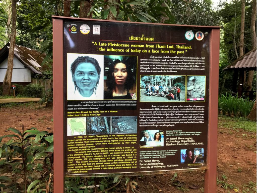 Historical significance of Tham Lod Caves