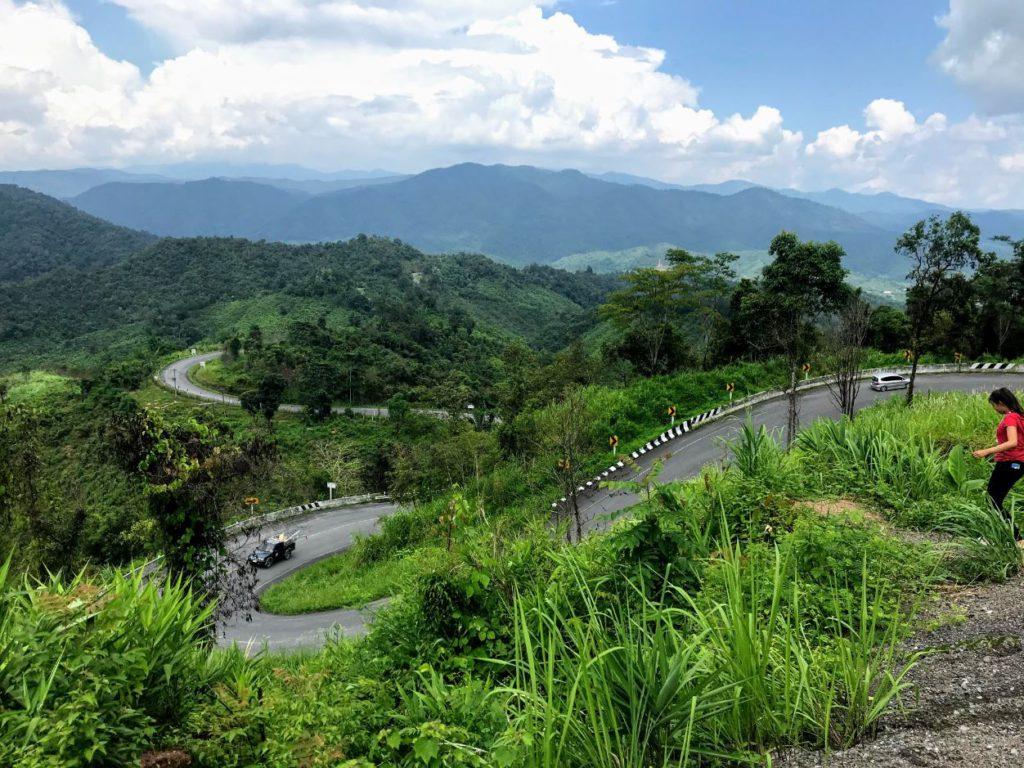 Roads in North Thailand