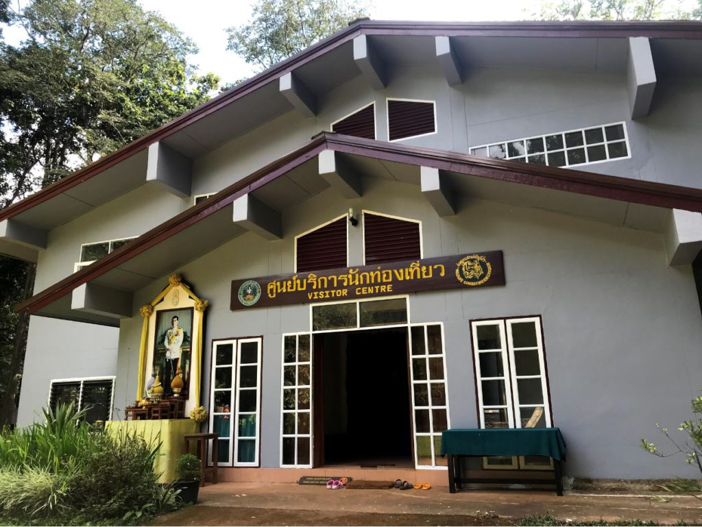 Visitor center at Tham Lod Caves