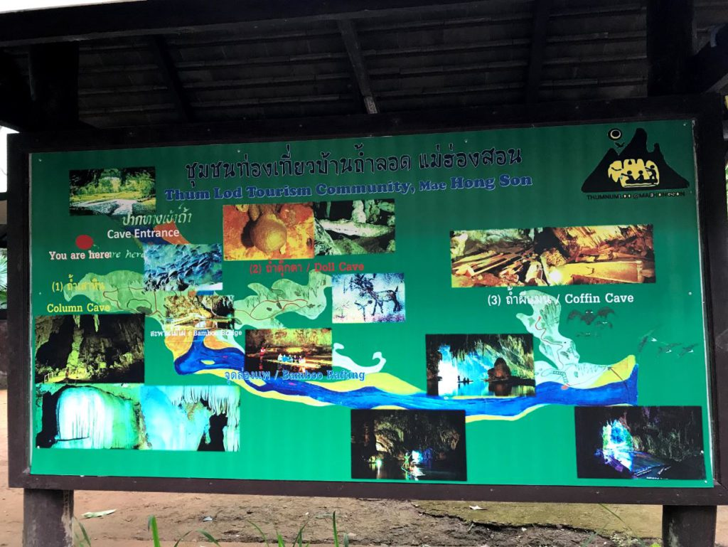 What to expect at Tham lod caves