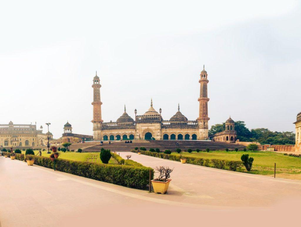 Bada Imambada gardens, Lucknow