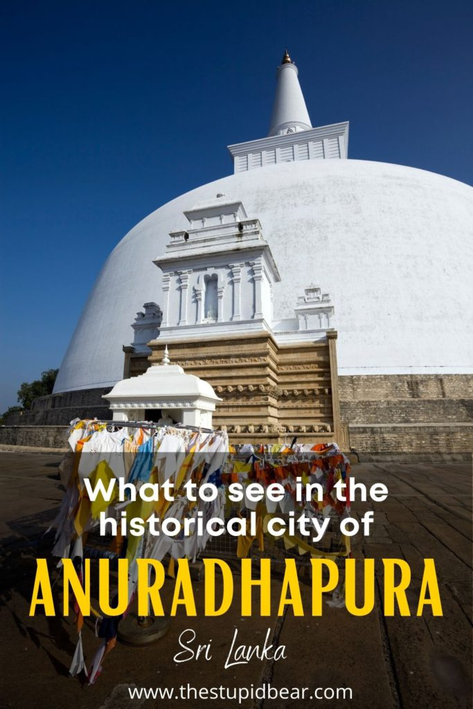 Travel guide to Anuradhapura historical city, Sri Lanka