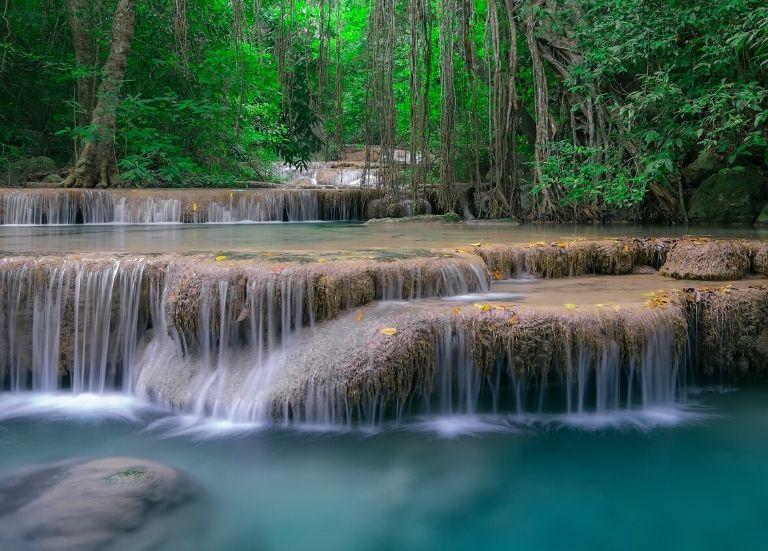 How to reach Erawan Waterfalls