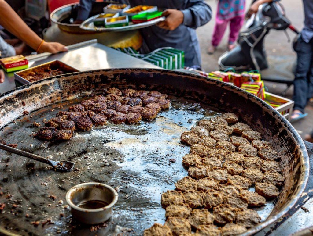 Galouti Kebab at Tunday Kebab, Lucknow