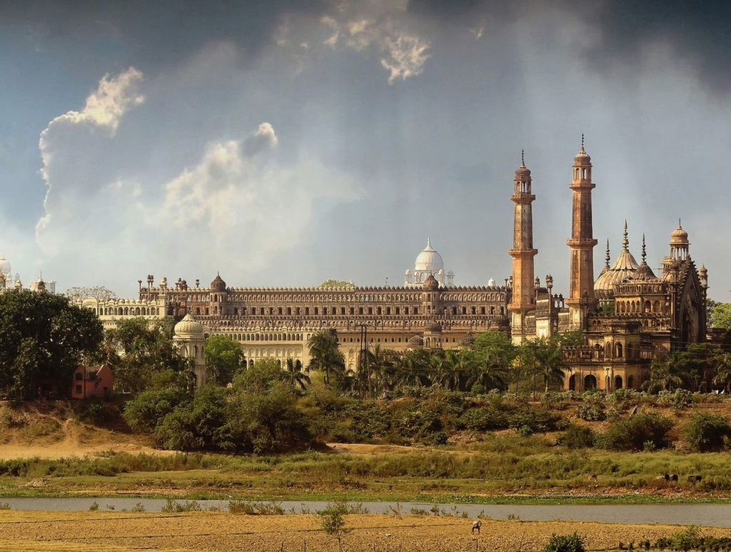 View of Old Lucknow city