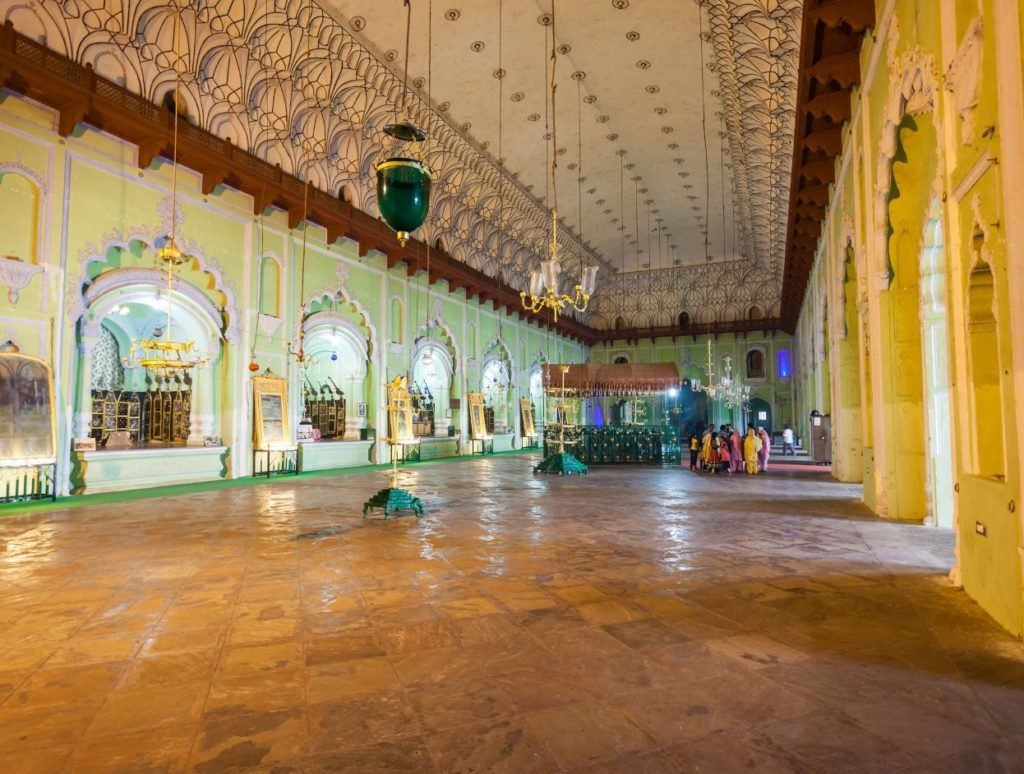 Inside Chota Imambara, Lucknow