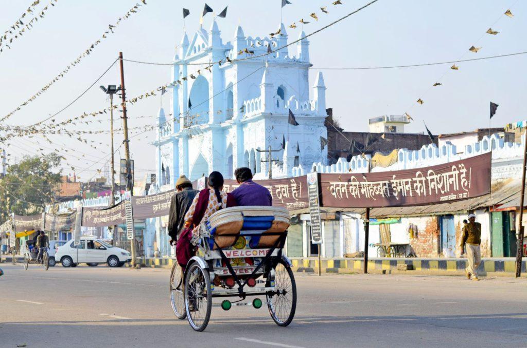 A rickshaw in Lucknow
