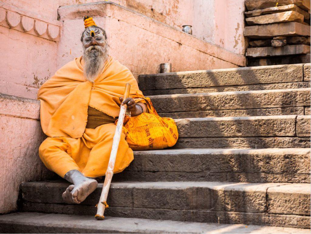 A Sadhu in Varanasi