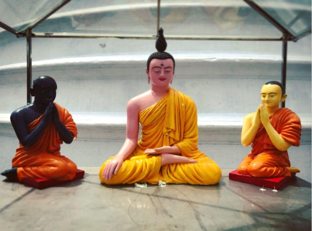 Buddha miniatures in Anuradhapura