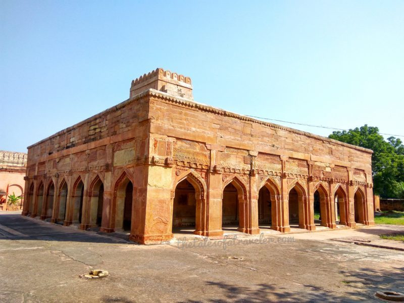 Inside Chunar Fort