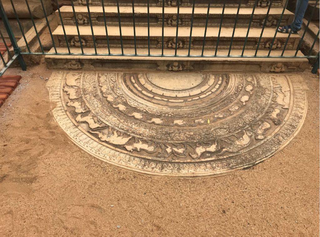 Moonstone in Anuradhapura, Anuradhapura