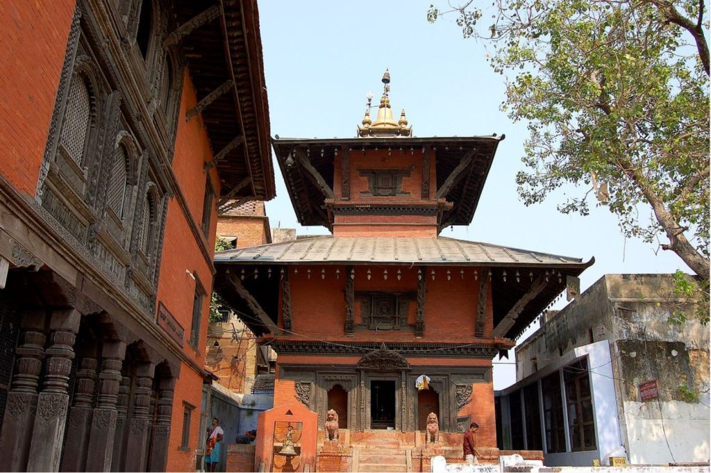 Nepali temple, Varanasi