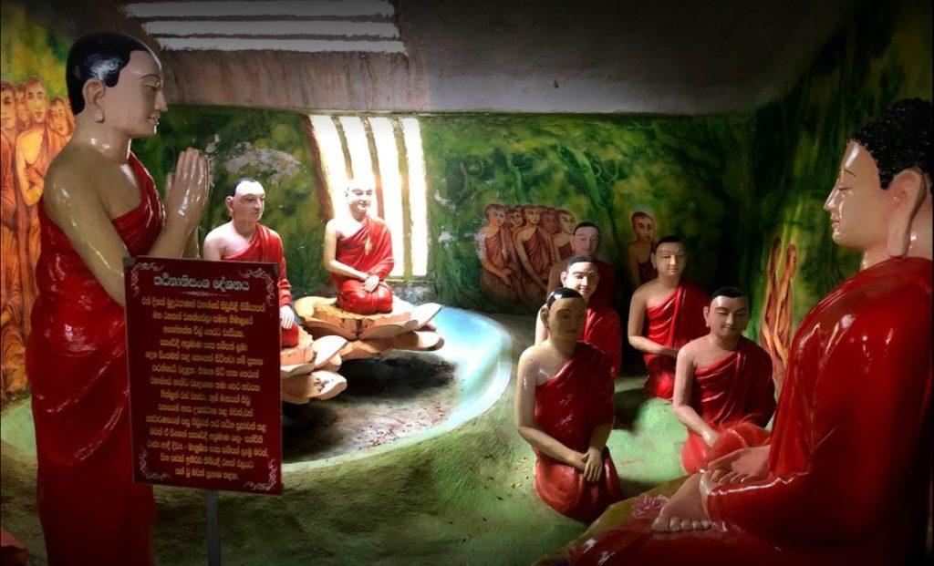 Sculptures in Nellikulama temple, Anuradhapura