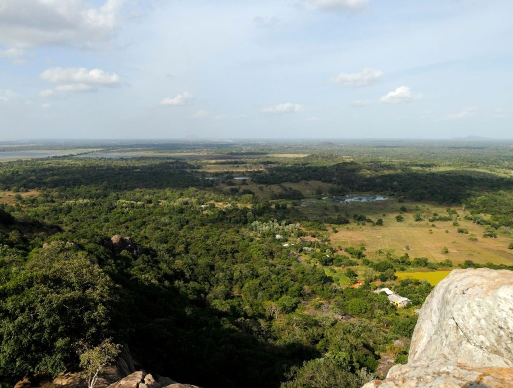 View from the top of the mountain, Anuradhapura