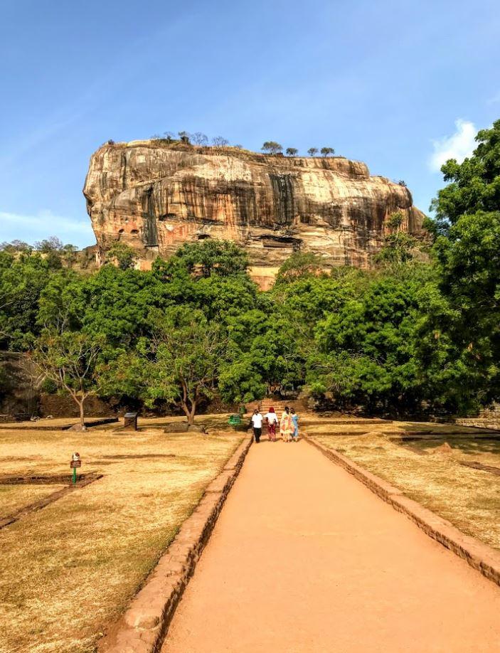 Sigiriya monolitic Rock, Sri Lanka
