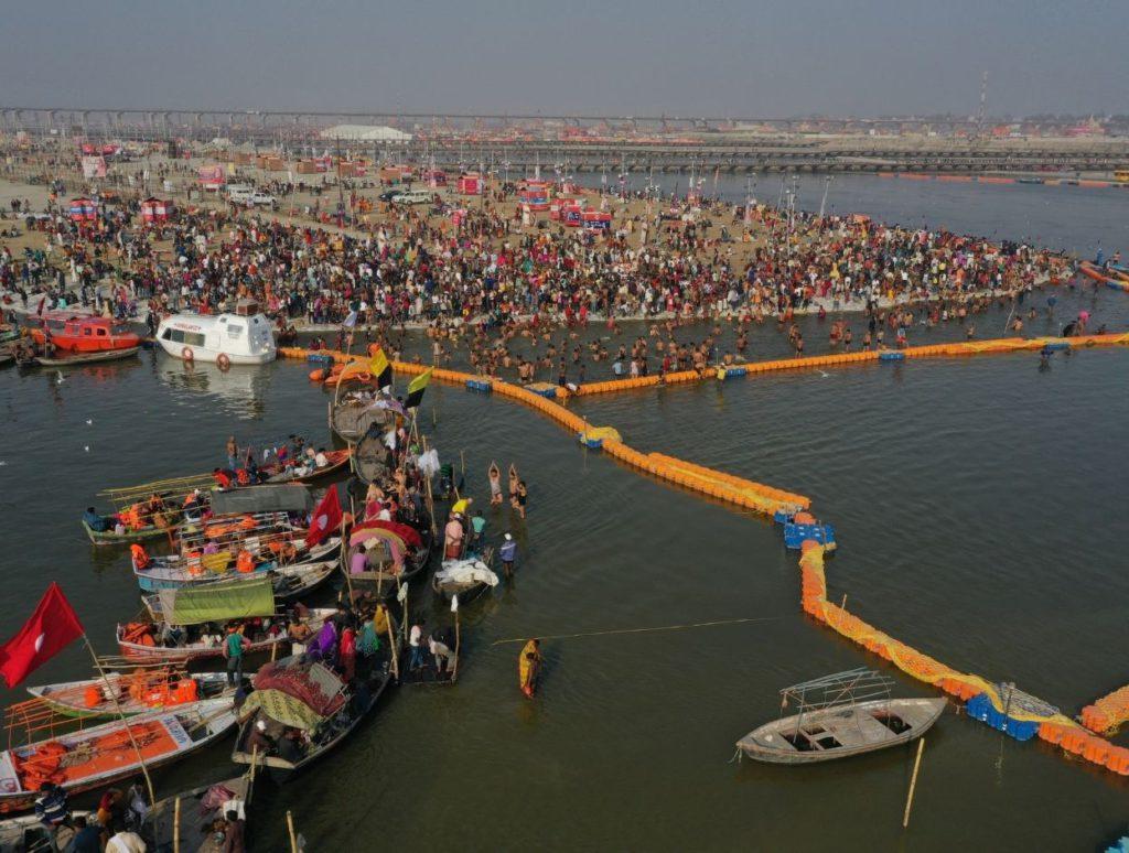 Kumbh Mela at Triveni Sangam