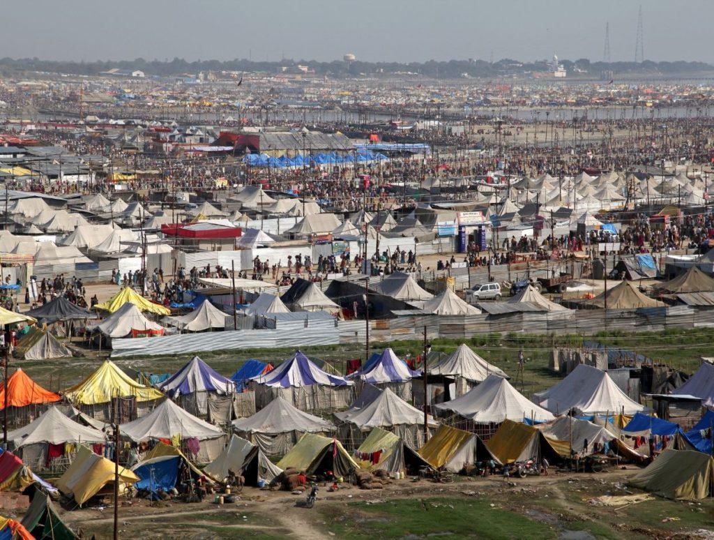 tents at Kumbh Mela