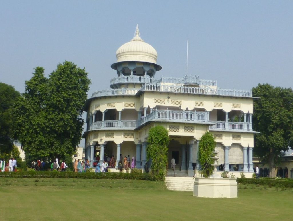 Anand Bhavan, the residence of Nehru family