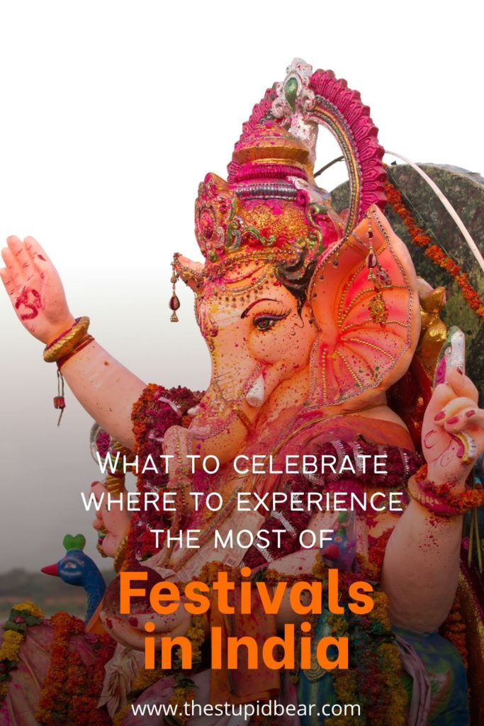 where to celebrate the popular festivals in India