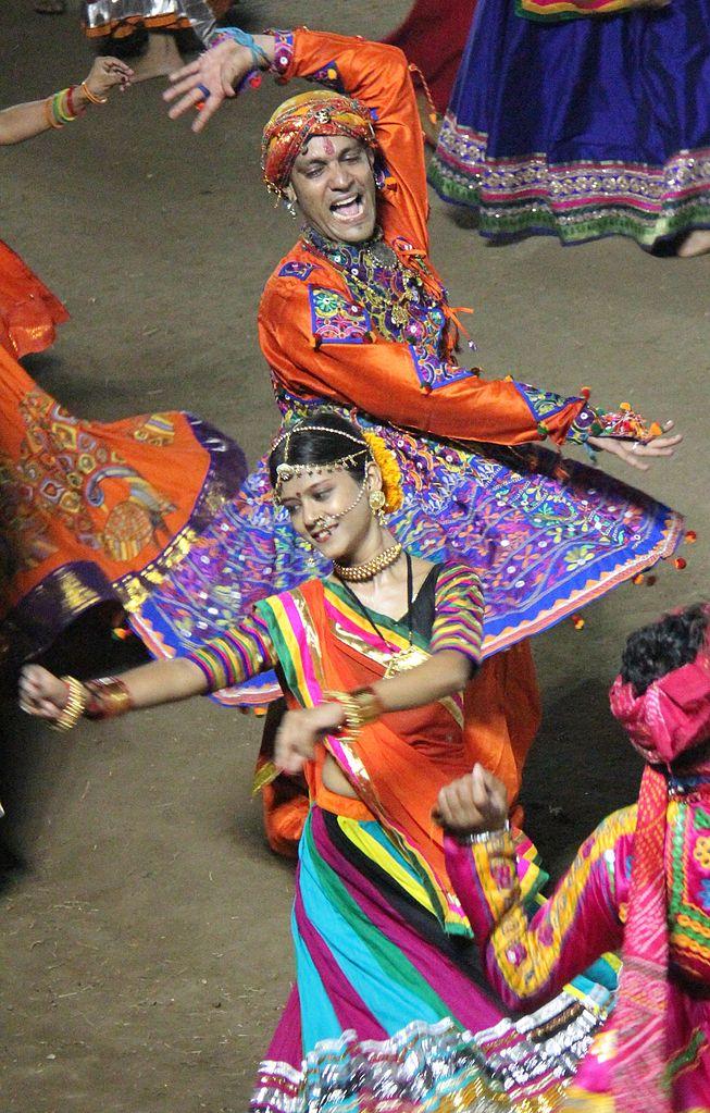 Garba Dance during Navratri in Gujarat