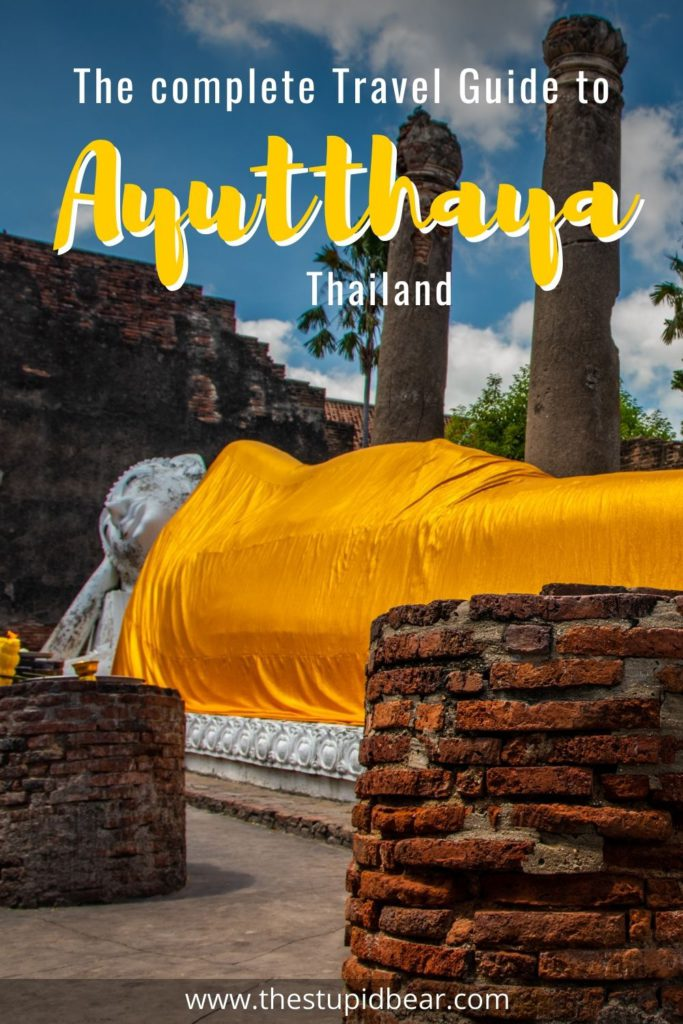 Places to visit in Ayutthaya - temples, ruins and tourist attractions
