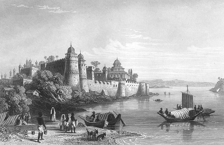 Fort of Akhbar, 1850s.