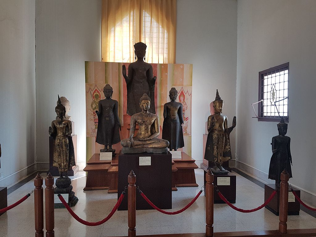 Inside Chao Sam Phraya National Museum, Ayutthaya