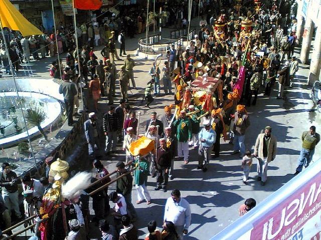 Shivratri procession in Mandi