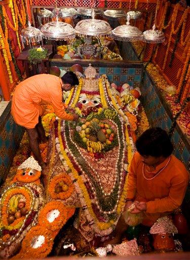 Shri Bade Hanumaan Ji at the Sangam