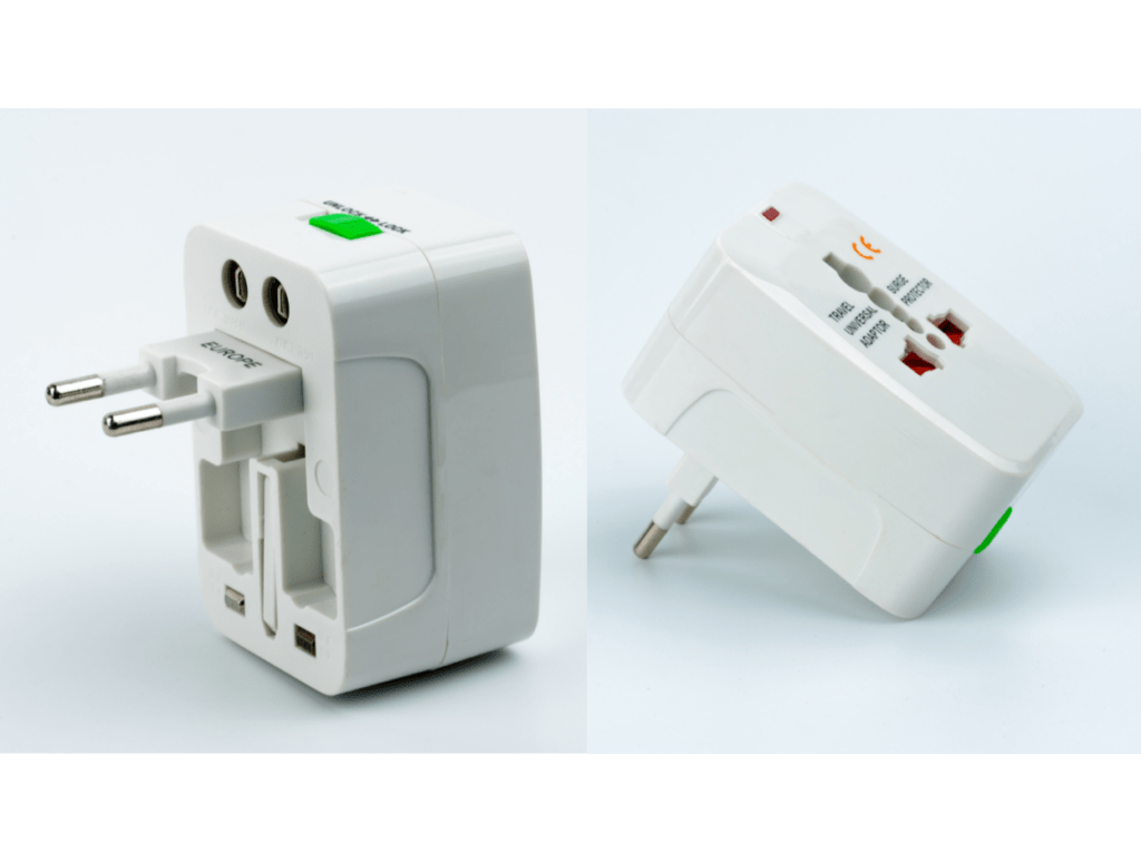 Universal Adaptor, travel tips for italy