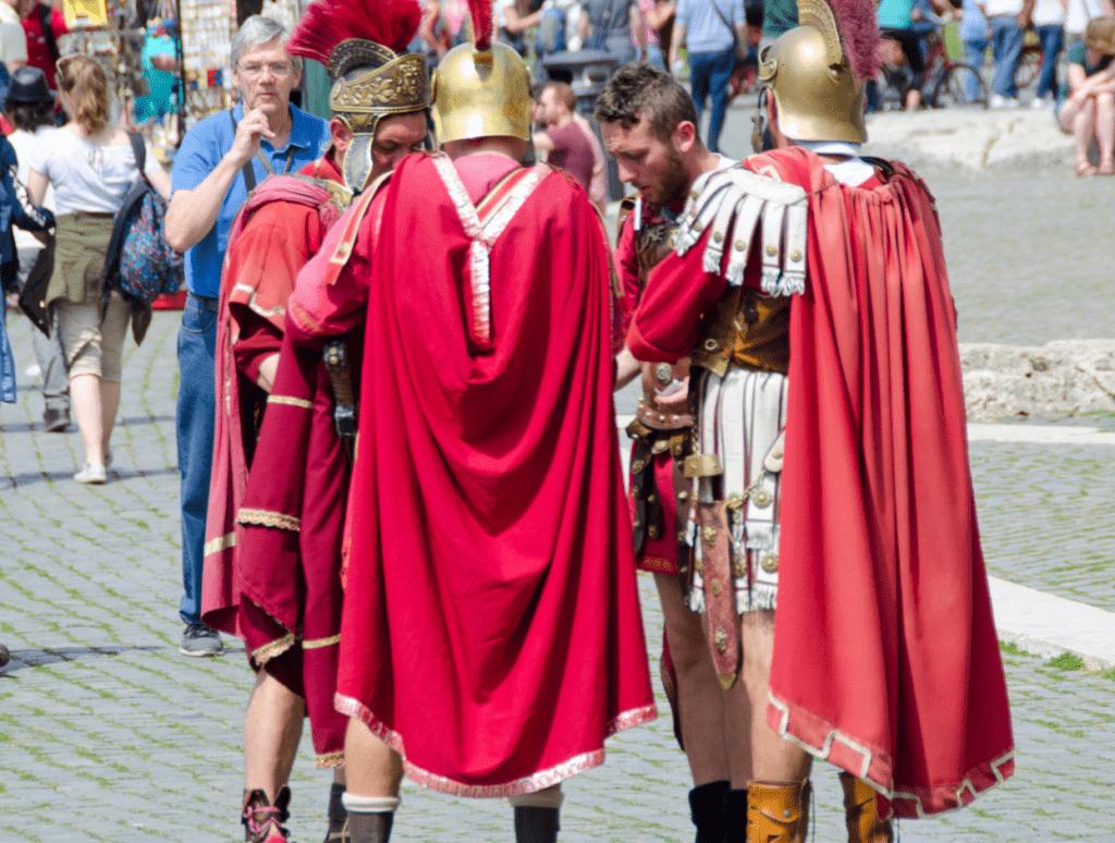 Gladiators in Italy